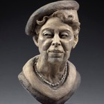 """Eleanor"" ©Lori Kiplinger Pandy forton bust for sale."