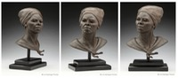"""Fierce"" ©Lori Kiplinger Pandy bronze sculpture of Harriet Tubman"