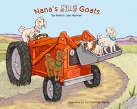 Nana's Silly Goats book cover ©Lori Kiplinger Pandy. Winner of Colorado Independent Publishers Association EVVY aware 2012.